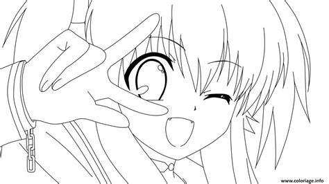 Coloriage Manga 119 Dessin