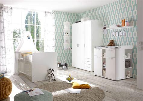 Babyzimmerset Bibo Weiß  Sb Möbel Discount