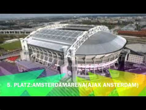 Die 5 schönsten Fußballstadien der Welt YouTube