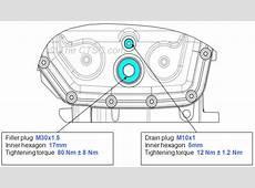 Maserati 6HP26 Transmission fluid level procedures