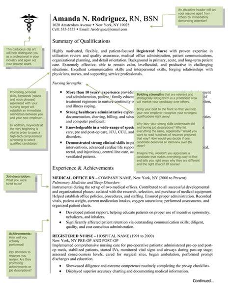 nursing resume template resume writing med