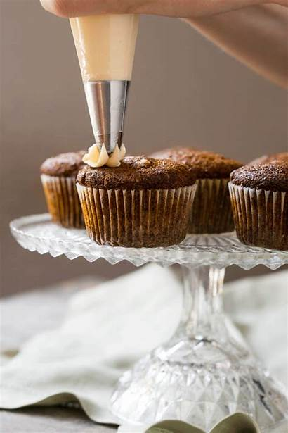 Carrot Cake Gluten Low Carb Cupcakes Paleo
