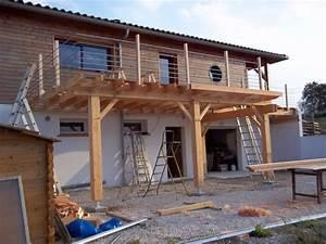 terrasse sur pilotis abribois31 constructions bois With terrasse sur pilotis en beton
