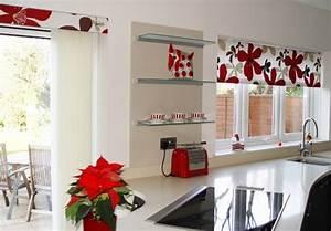 Rideaux De Cuisine : 25 rideaux cuisine pour une atmosph re agr able et rafra chie ~ Teatrodelosmanantiales.com Idées de Décoration