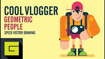 Illustrator Characters Drawing Tutorial Create Speed