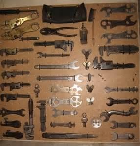Vintage Antique Tool Display