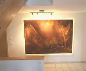 Led Bild Selber Machen : wohnideen wandgestaltung maler der kundenwunsch ein ~ Bigdaddyawards.com Haus und Dekorationen