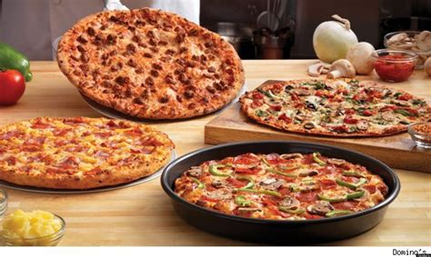 domino cuisine free domino 39 s pizza chain to give away half a million slices of pan pizza huffpost