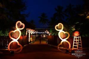 Beach theme wedding party at Leela Kovalam, Kerala