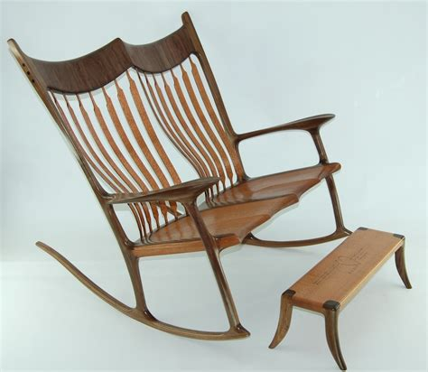paul s sculpted rocking chair the wood whisperer