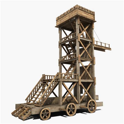 siege engines 3d modeled