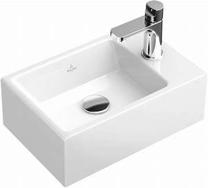 Waschbecken Villeroy Boch : memento handwaschbecken eckig 53334g villeroy boch ~ Frokenaadalensverden.com Haus und Dekorationen
