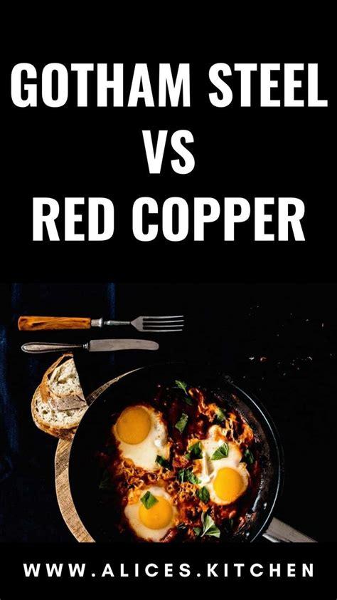gotham steel  red copper   gotham steel red copper cookware steel