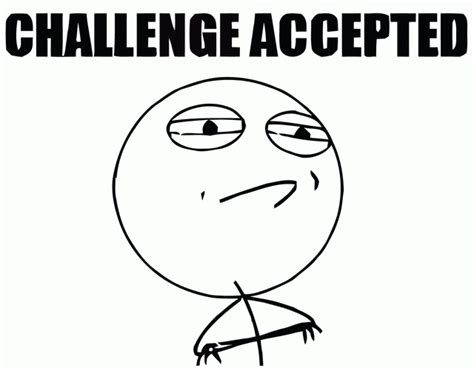 Challenge Accepted Meme Face - the 150 budget challenge in march clothing beauty accessory quot low buy quot hello rigby