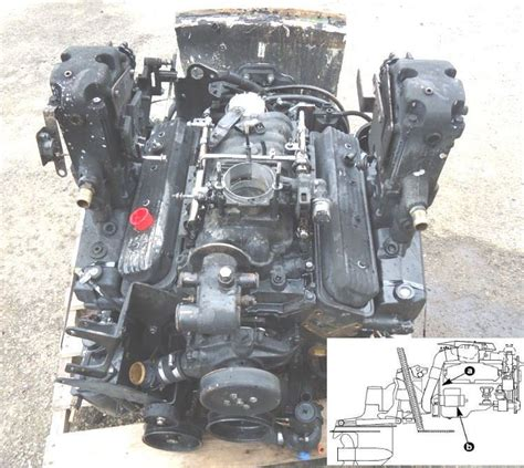 Outboard Motor Repair Detroit by Mercury Mercruiser Marine Engine Gm 305 350 Motor Boat