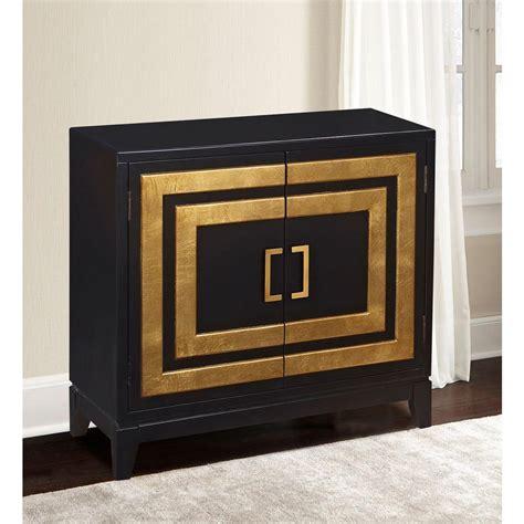 Kitchen Cabinets Organization Ideas - pulaski furniture black and gold storage cabinet ds 2536 850 1 the home depot