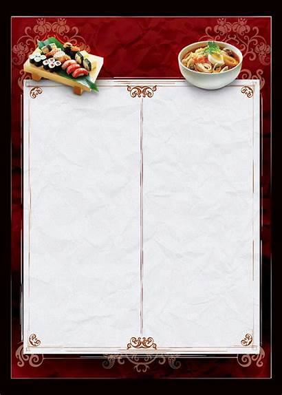 Menu Chinese Template Templates Deviantart Restaurant Menus