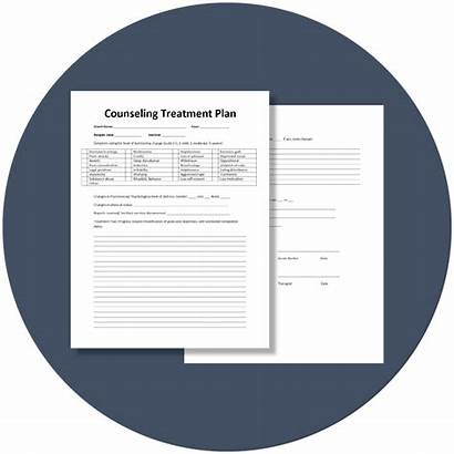 Treatment Plan Counseling Template Theranest Stirring Mental