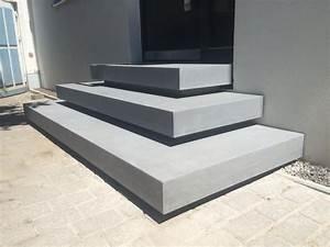 Hauseingang Treppe Modern : betontreppe eingang eigenes haus eingang treppe eingangstreppe und betontreppe ~ Yasmunasinghe.com Haus und Dekorationen