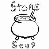 Soup Stone Coloring Pages Clipart Colouring Drawing Printable Many Clipartmag Storytelling Tgchan Club Thread Related Getdrawings Getcolorings Popular Azcoloring Coloringhome sketch template