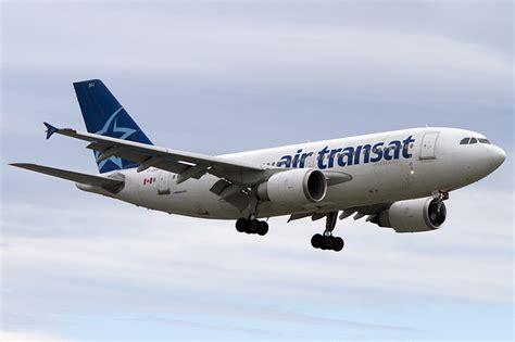 air transat c gsat airbus a310 308 24 08 2011 yul