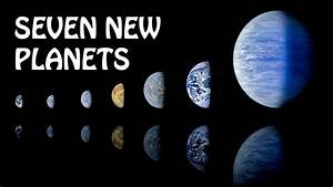 NASA discovered seven new planets - YouTube