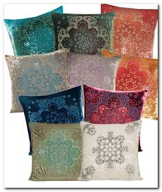moroccan upholstered wing pillow cover modern pillow
