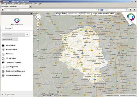 Interaktive Karte für Rheinhessen | Tourismusnetzwerk ...
