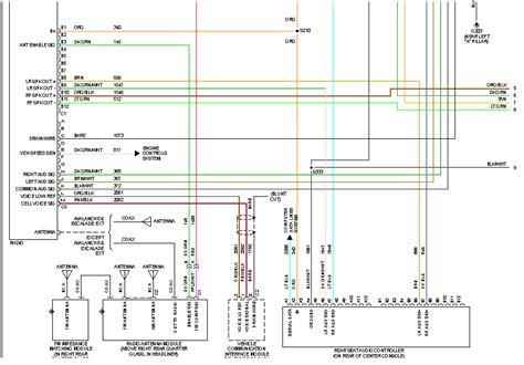 Wiring Diagram For 2007 Gmc Yukon by I Need The Wiring Diagram For The Factory Radio On A 2005