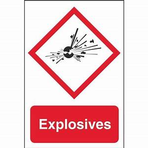 GHS Physical Hazard Signs | Dangerous Goods Safety Signs ...