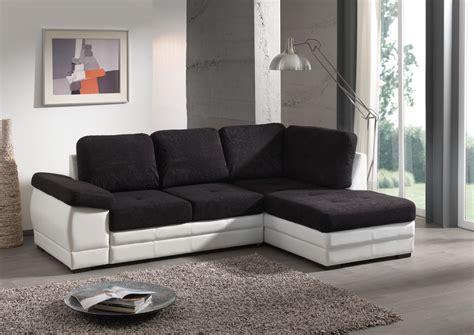 canapé noir davaus salon moderne canape noir avec des idées