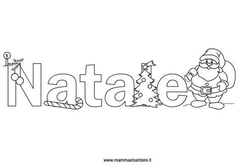 scritte da disegnare scritta natale da colorare mamma e bambini