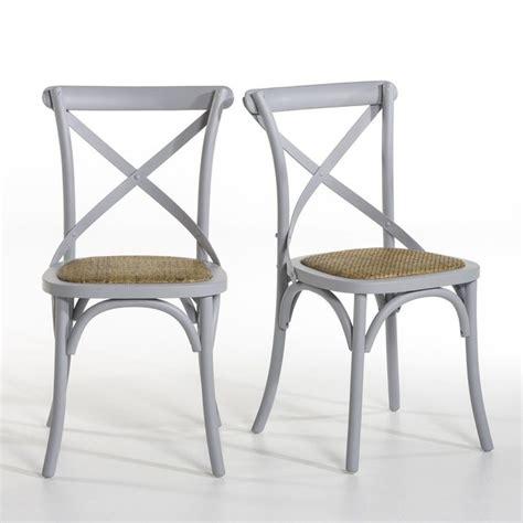 la redoute chaises de cuisine chaise humphrey lot de 2 am pm la redoute