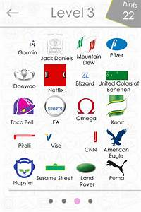 Logo Collection: Logo Quiz Answers Level 3