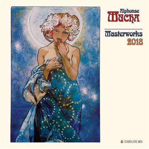 alphonse mucha masterworks calendars ukposterseuroposters