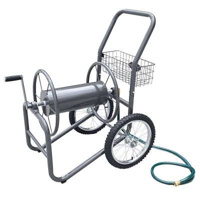 liberty garden 300 ft 2 wheel industrial hose cart 880