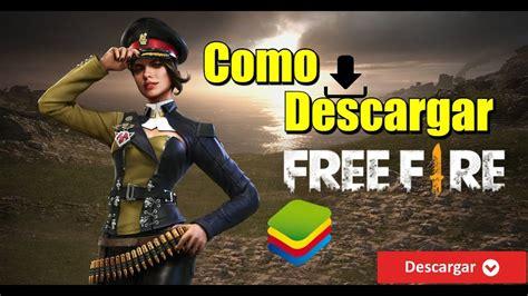 Free fire es el último juego de sobrevivencia disponible en dispositivos móviles. Como descargar Free Fire para PC! - YouTube