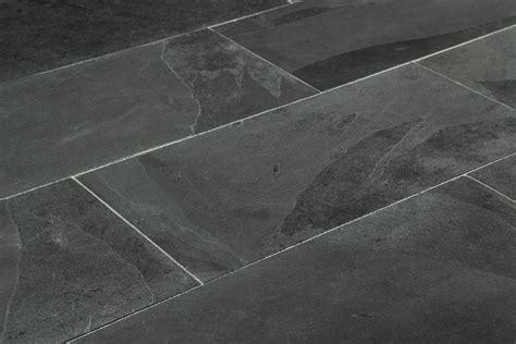Tile Ideas For Kitchen Floor - black slate laminate tile flooring