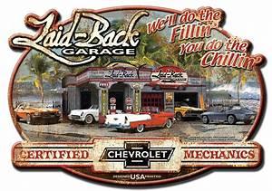 Garage Chevrolet : dream garage chevy embossed metal sign ~ Gottalentnigeria.com Avis de Voitures