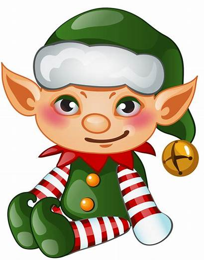 Elf Transparent Christmas Elves Clipart Background Clip