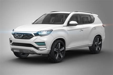 ssangyongs super sized suv liv  concept unveiled  car
