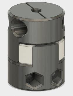 shaft coupler  models stlfinder