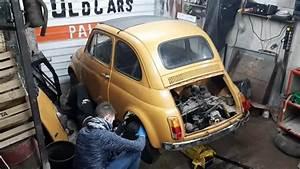 Smontare Motore E Cambio Fiat 500 D U0026 39 Epoca  Ud83d Udd27 Fiat 126