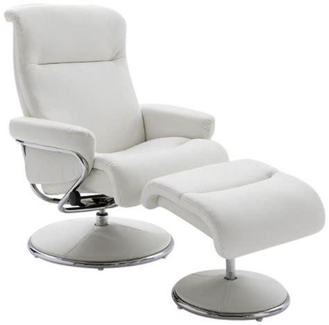 fauteuil relax bureau decoration fauteuil cuir blanc design fauteuil