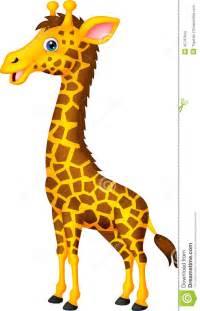 Cartoon Giraffe Standing