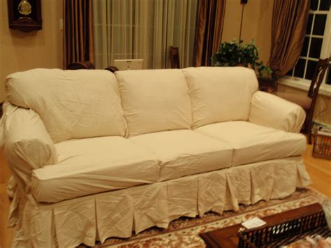 white t cushion sofa slipcover decor stylish t cushion
