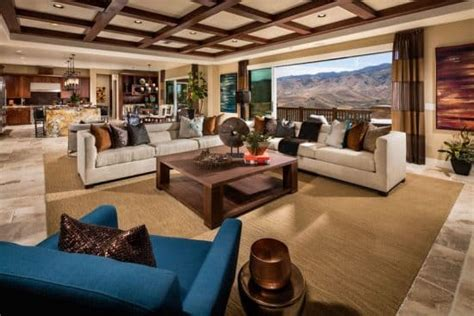 43 Beautiful Large Living Room Ideas (Formal & Casual