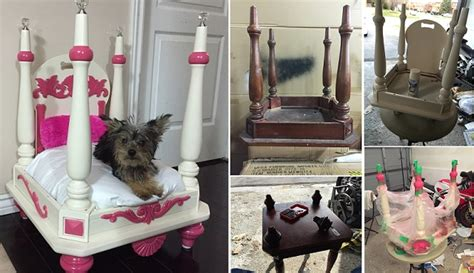 repurpose   chair   dog bed home design