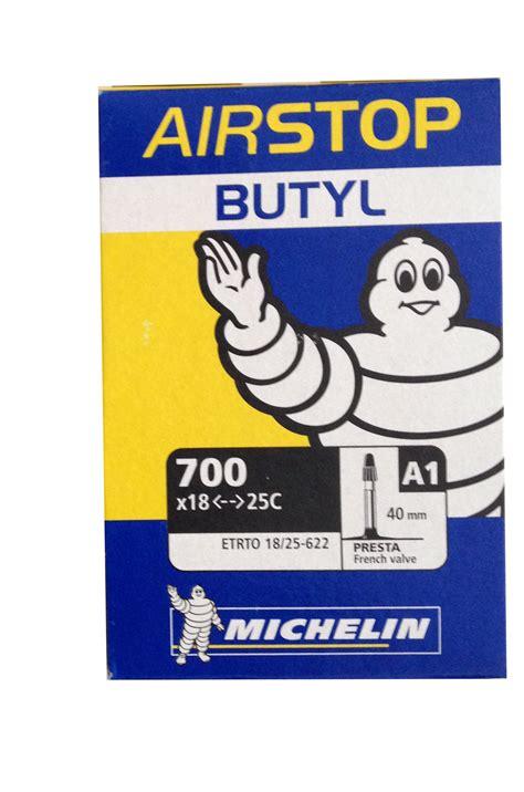 michelin a1 airstop butyl road bike 700x18c 700x23c