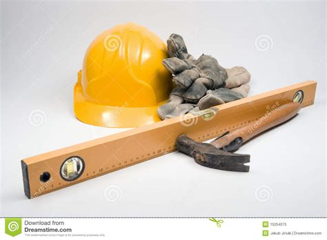 Builder Free by Equipment For Builder Royalty Free Stock Photo Image